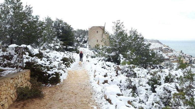99 Nieve en Xàbia