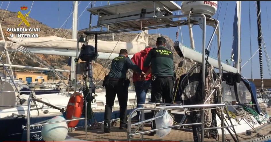 Detenidos por transportar hachís