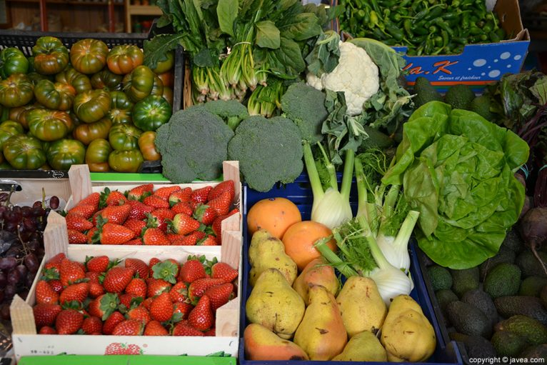 Verduras y frutas BIO HURTADO