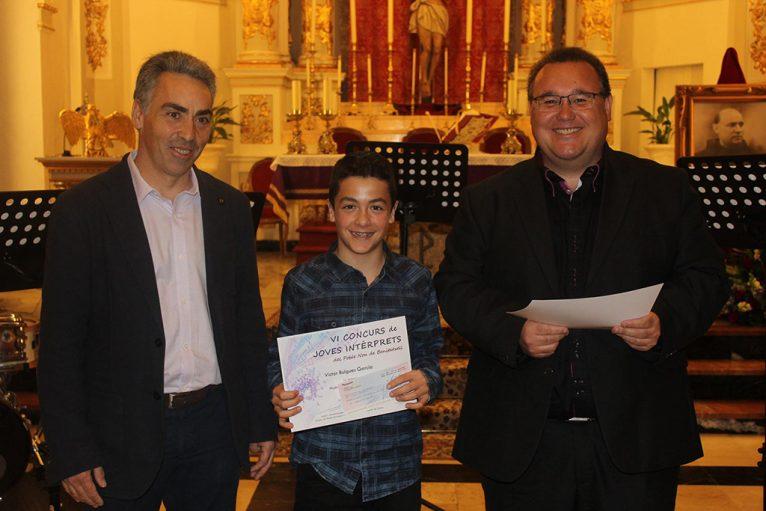 Ganadores del Concurso de Jóvenes Intérpretes