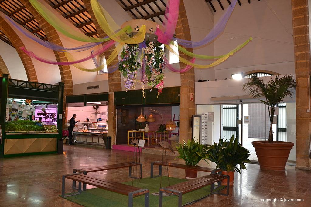Centro del Mercado primaveral