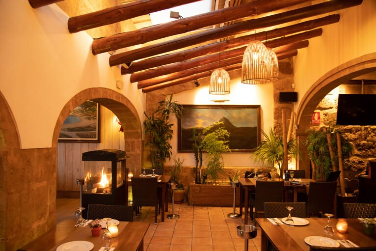 Comedor del Restaurante La Fontana en Jávea