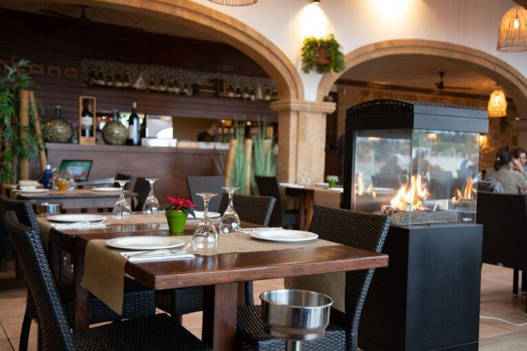Comedor del Restaurante La Fontana