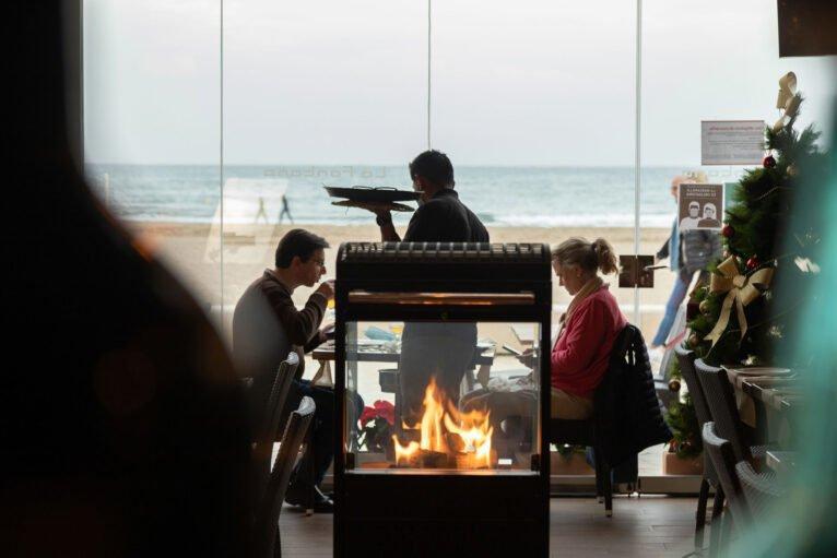 Comer al lado del mar en Jávea - Restaurante La Fontana