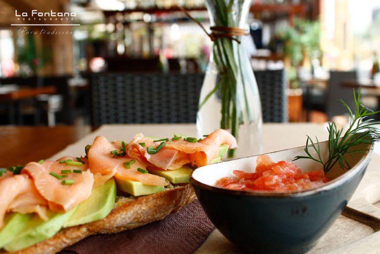 Desayuno en Jávea Restaurante La Fontana