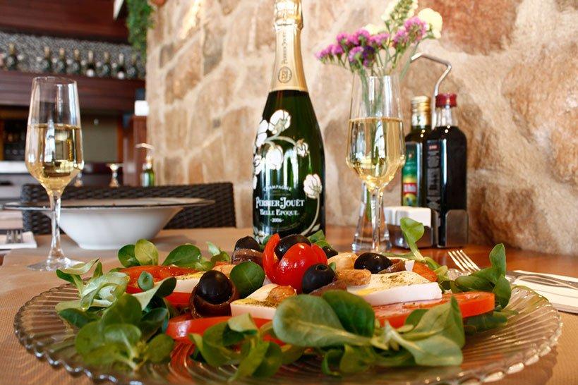 Ensaladas Restaurante La Fontana