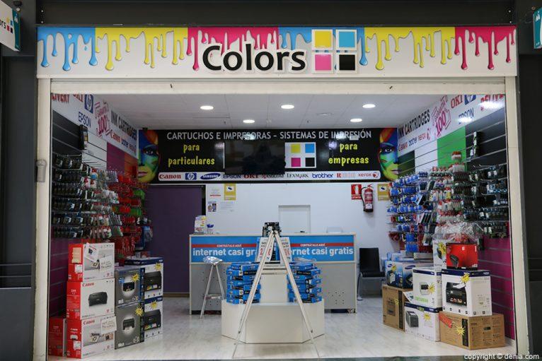 Entrada Colors sistemas de impresión Jávea