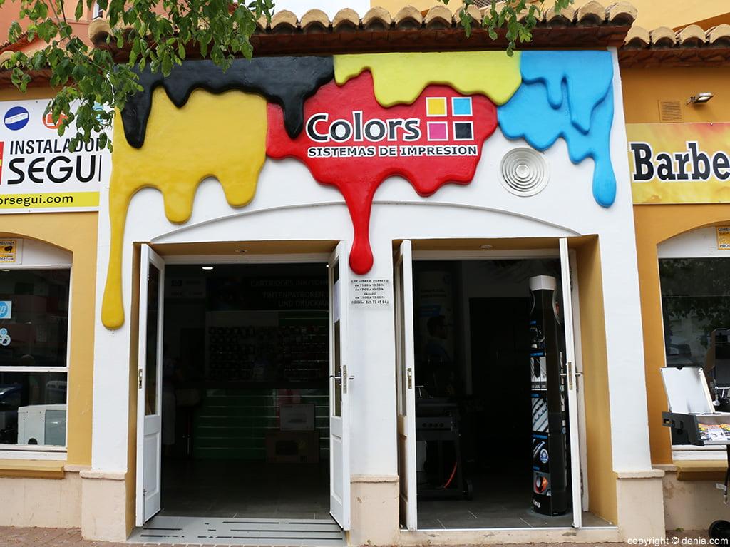 Entrada Colors sistemas de impresión