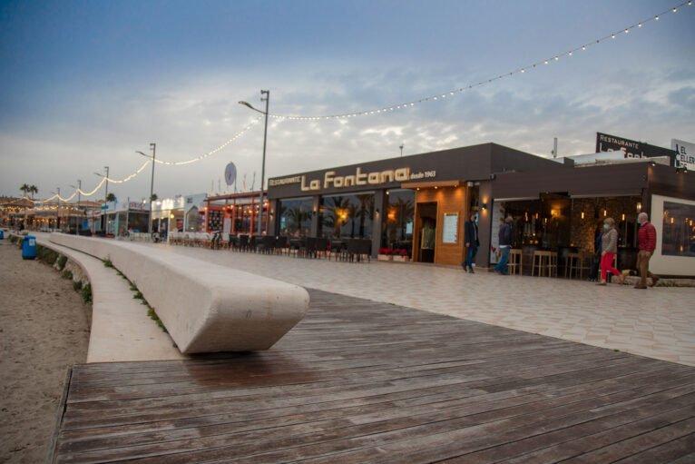 Exterior de Restaurante La Fontana