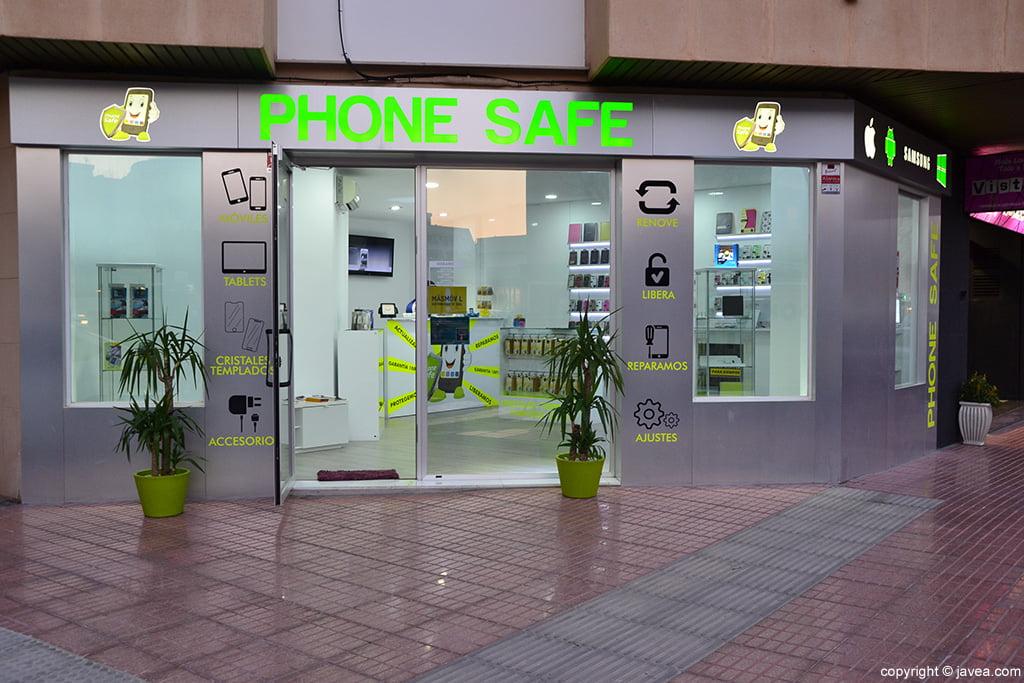 Fachada Phone Safe