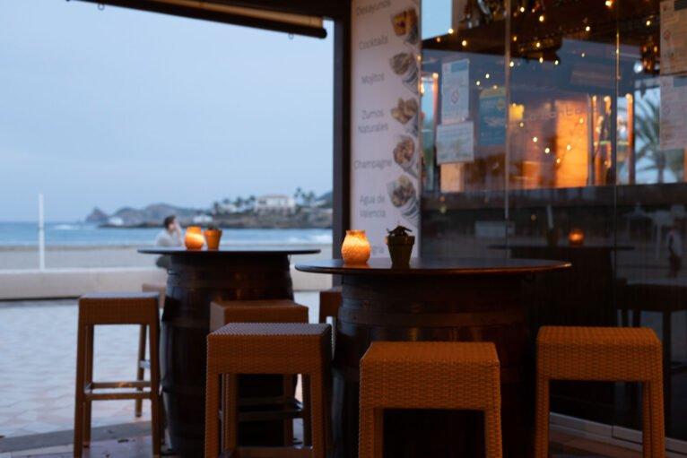 Mesas - Restaurante La Fontana