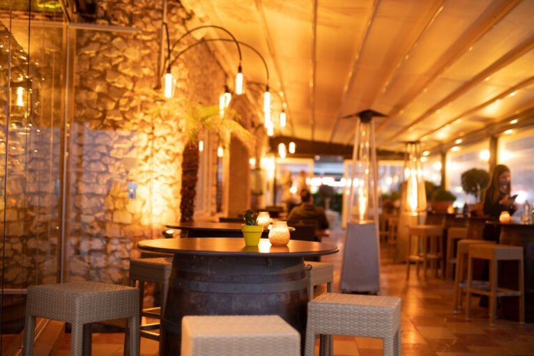 Un rincón acogedor en Restaurante La Fontana