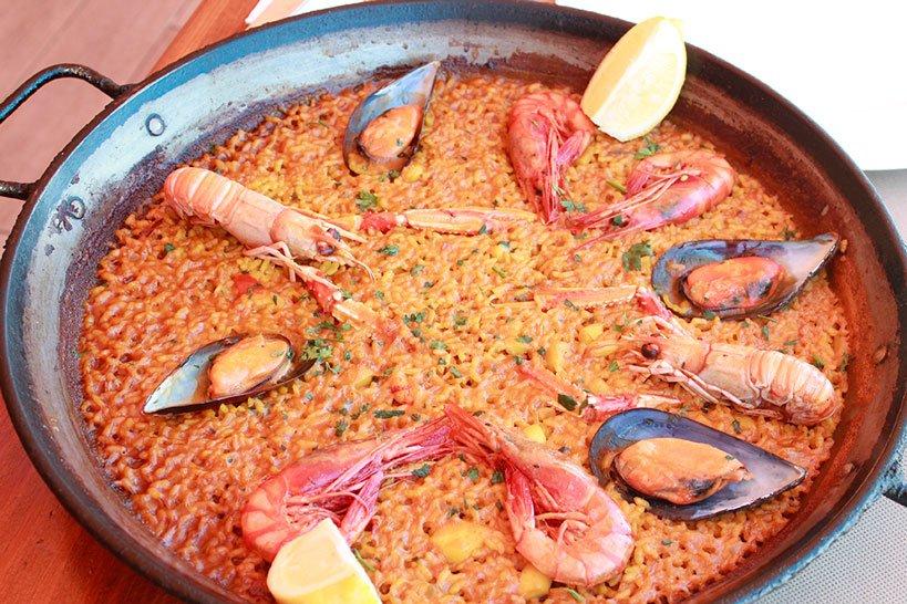 Paella en Jávea Restaurante La Fontana