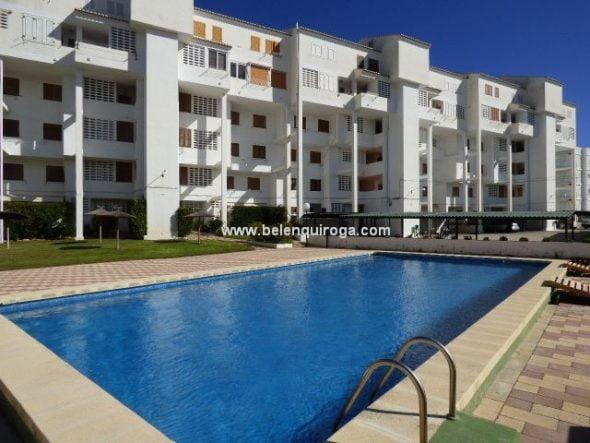 Extraordinario apartamento en primera l nea de playa en for Inmobiliaria quiroga