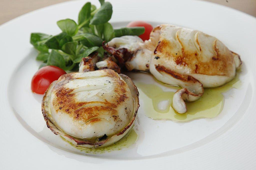 Sepia a la plancha – Restaurante La Fontana