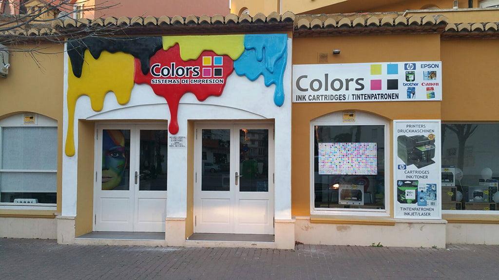 Tienda Colors Sistemas de Impresión en Jávea