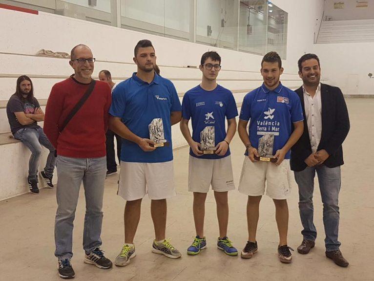 Equipo del Xábia A tercer clasificado de la Liga Comarcal de Raspall