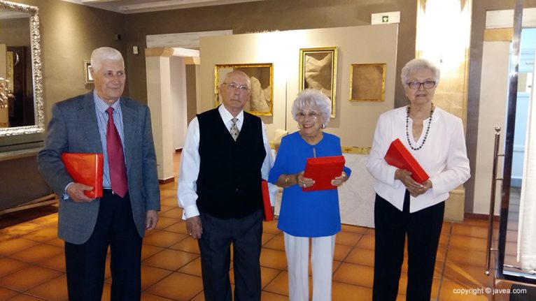 Homenajeados por sus 80 años