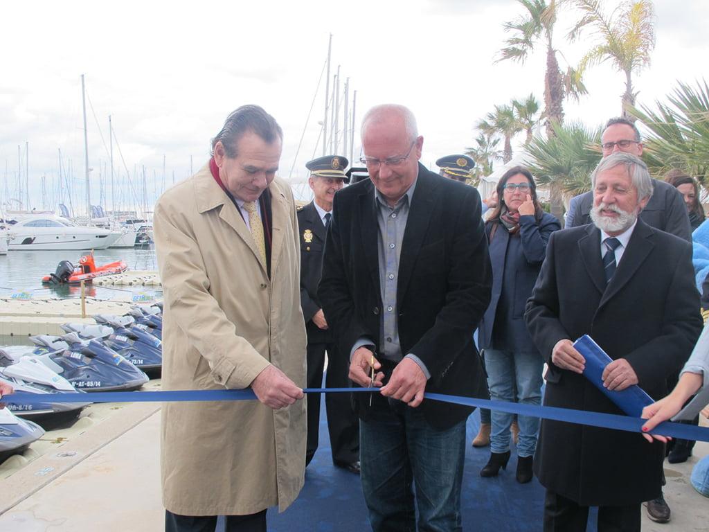Inauguración del Salón Náutico de Dénia