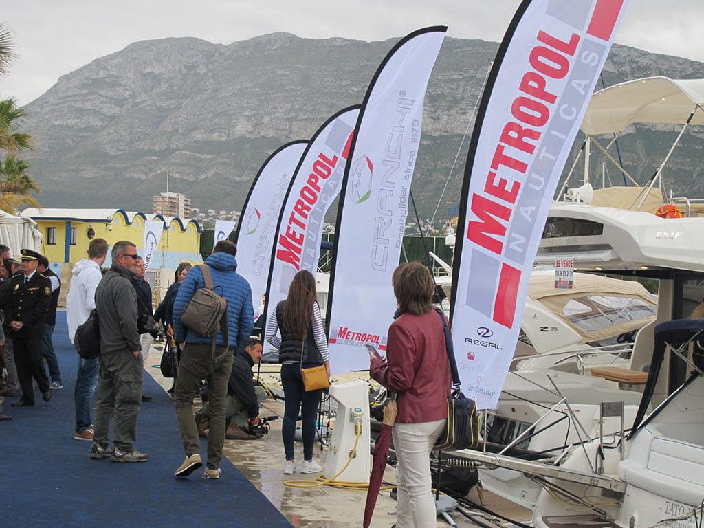 Más de 100 embarcaciones se exponen en el 'X Salón Náutico de Dénia'