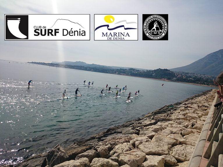 Una regata de paddle surf en Dénia