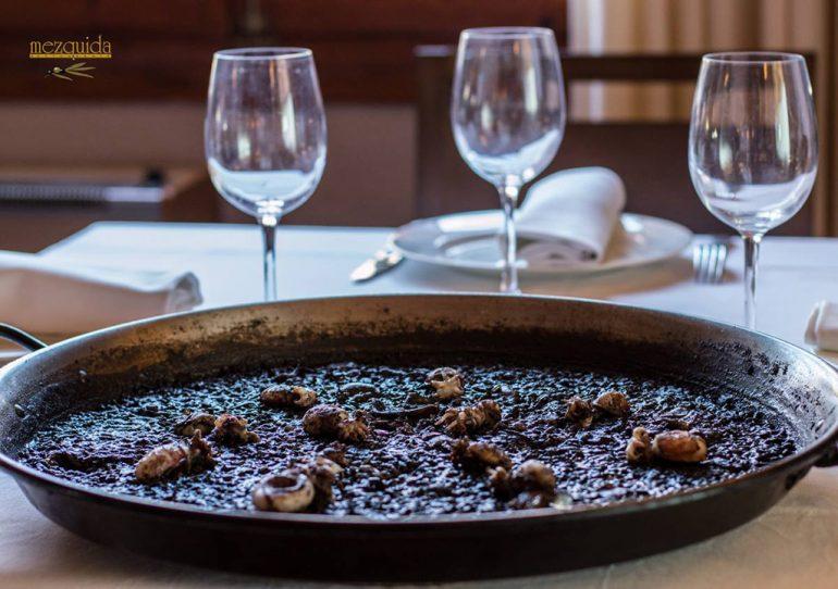 Arròs negre Restaurant Mezquida