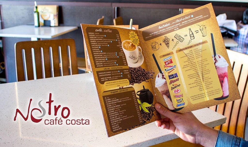 Carta Nostro Café Costa