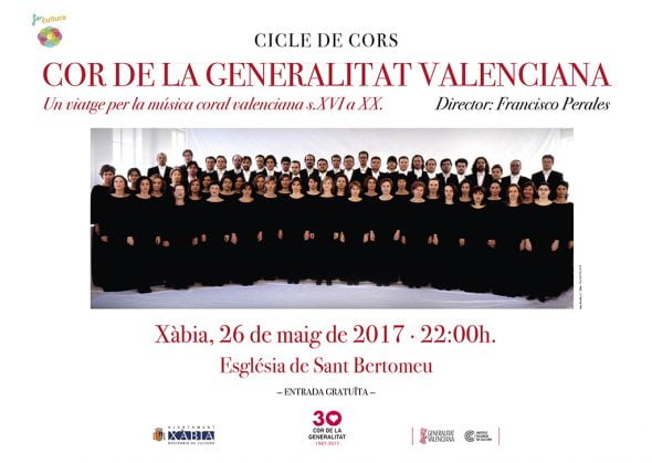 The Choir of the Generalitat Valenciana closes the cycle of choral music