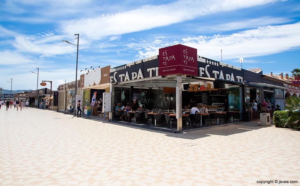 Exterior Restaurante Estapati Jávea