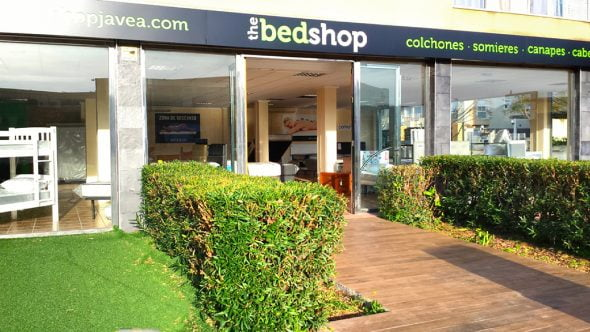 Imagen: Fachada The Bed Shop