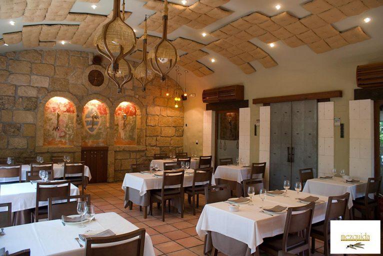 Interior Restaurante Mezquida