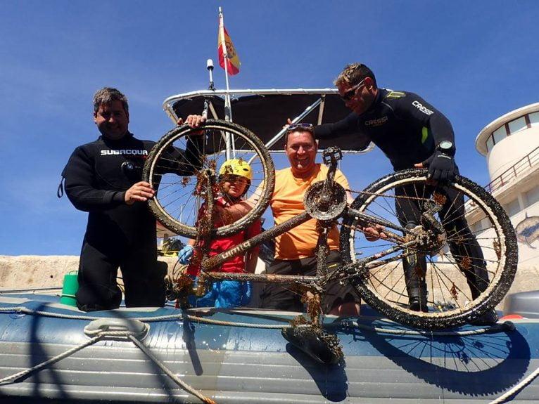 Jornada de limpieza marina - Club Buceo Cabo la Nao