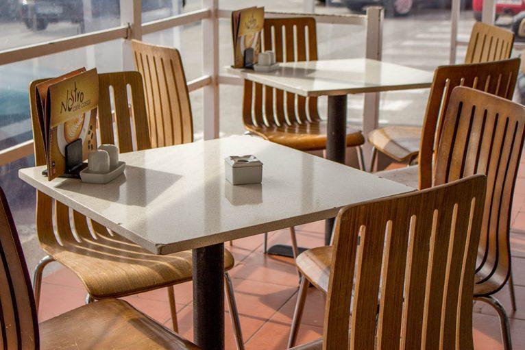 Mesa terraza Nostro Café Costa