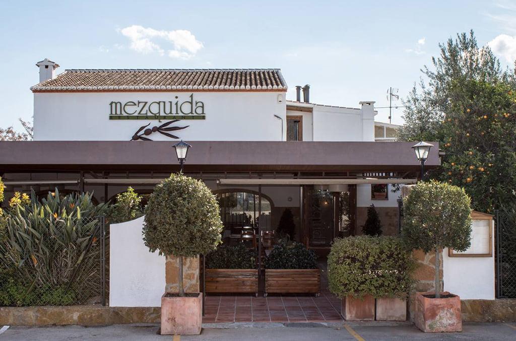 Entrada Restaurant Mezquida