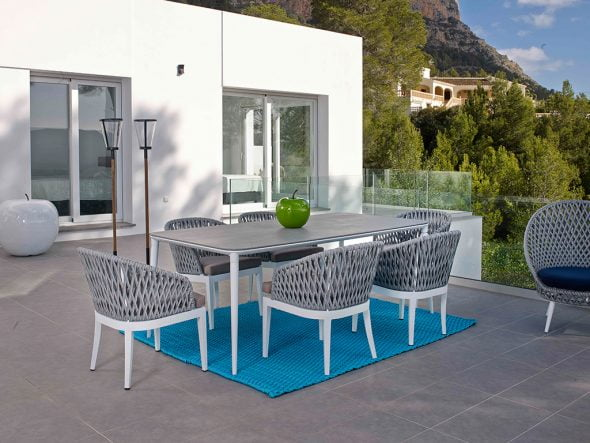 Elegance and modernity in the new outdoor furniture for Outdoor furniture javea