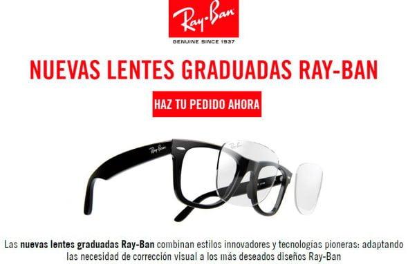 oferta gafas sol graduadas ray ban