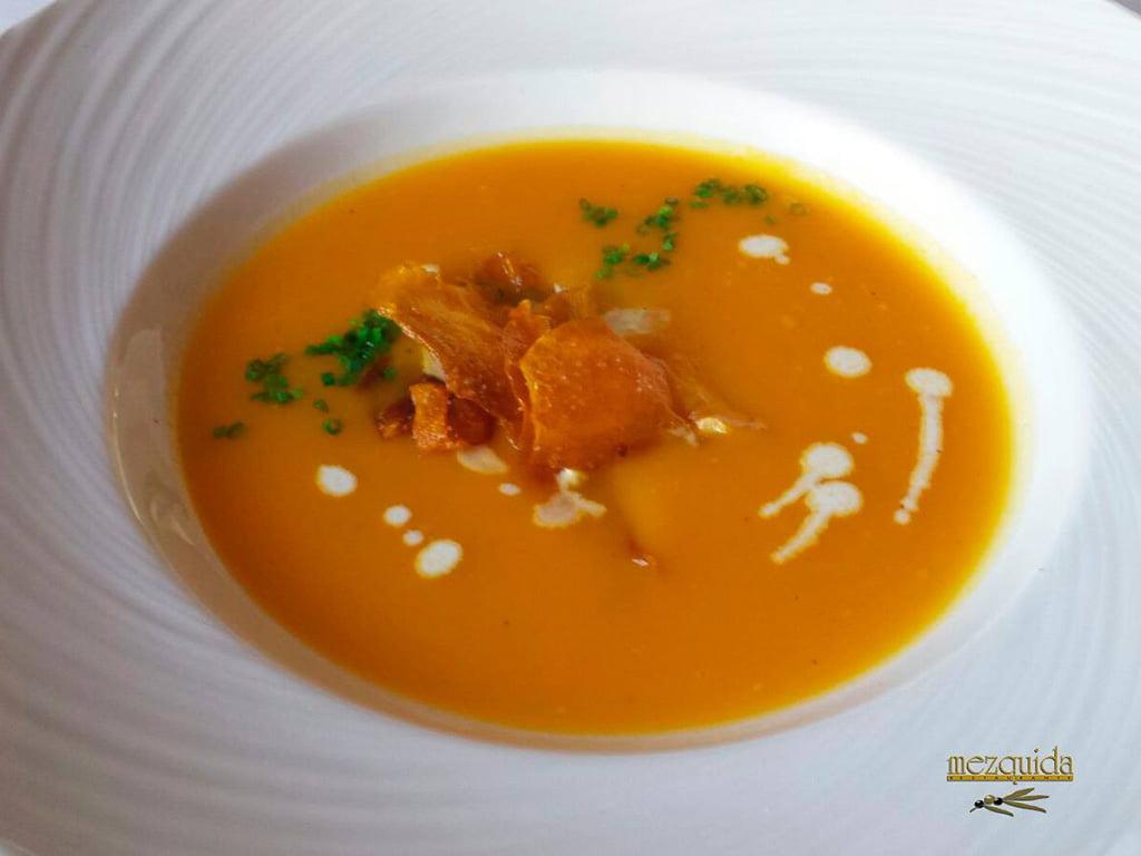 Salmorejo Restaurant Mezquida