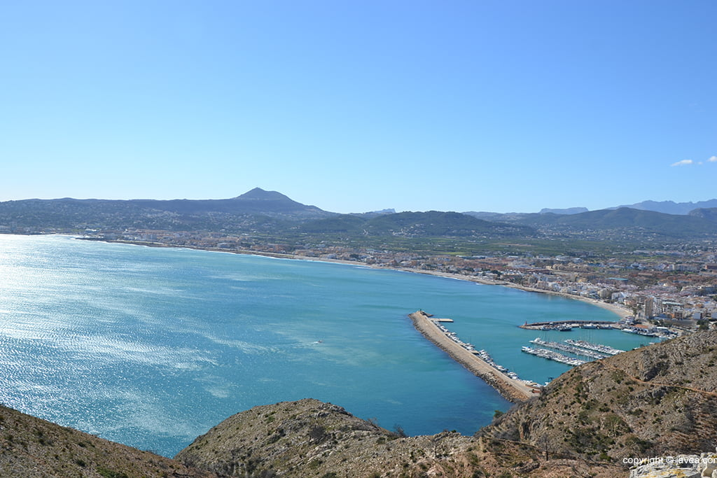 Xàbia desde el Cap de Sant Antoni