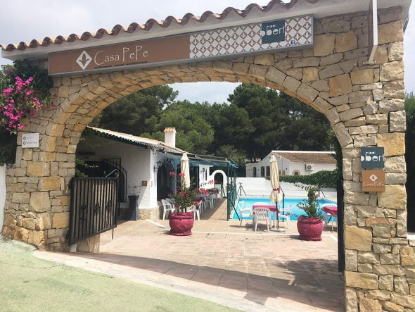 Imagen: Casa Pepe entrada