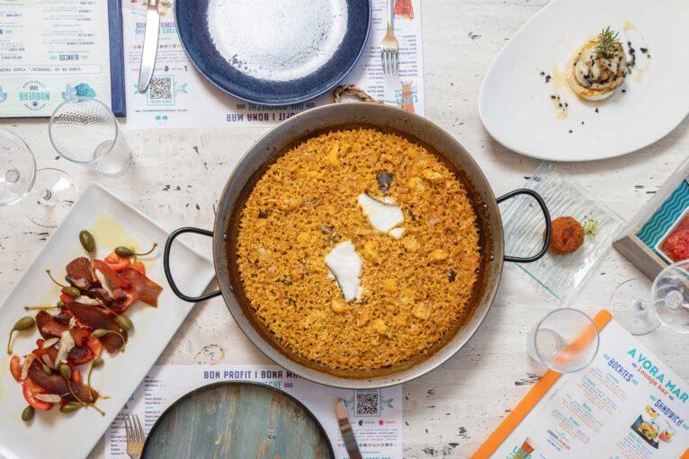 Comer en la playa de Denia - Restaurant Noguera