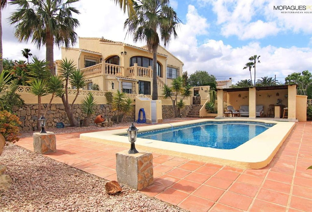 Beautiful villa for sale with open views to the mountain Mediterranean homes for sale