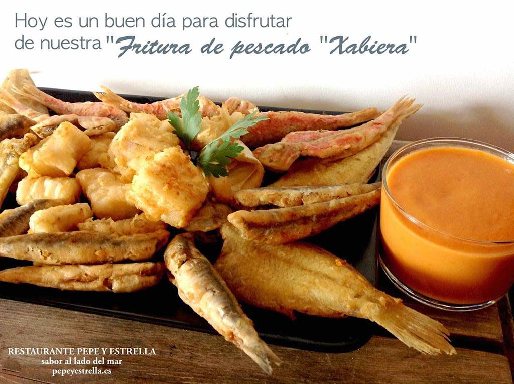 Fritura Restaurante Pepe y Estrella