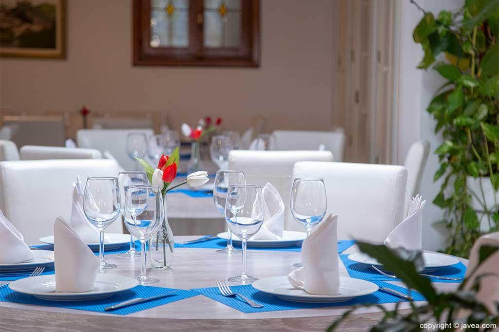 Mesas Restaurante Pepe y Estrella