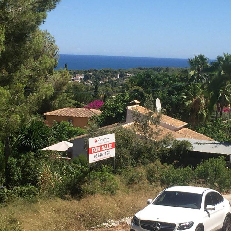 Vistas al mar de la parcela-Atina-Inmobiliria