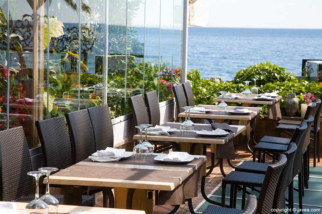 Vistas Mediterráneo Restaurante Pepe y Estrella