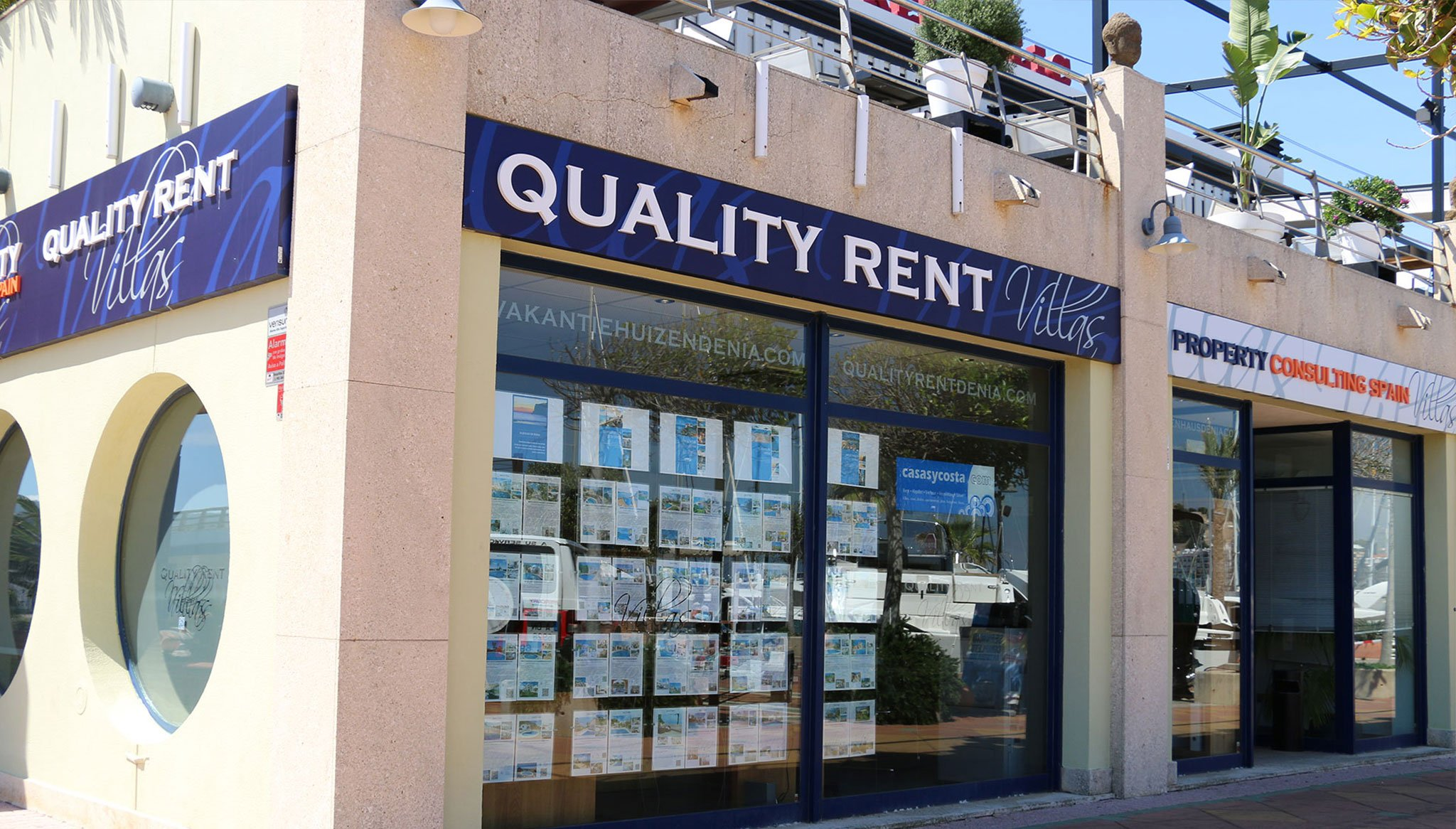 Gevelkwaliteit Rent a Villa