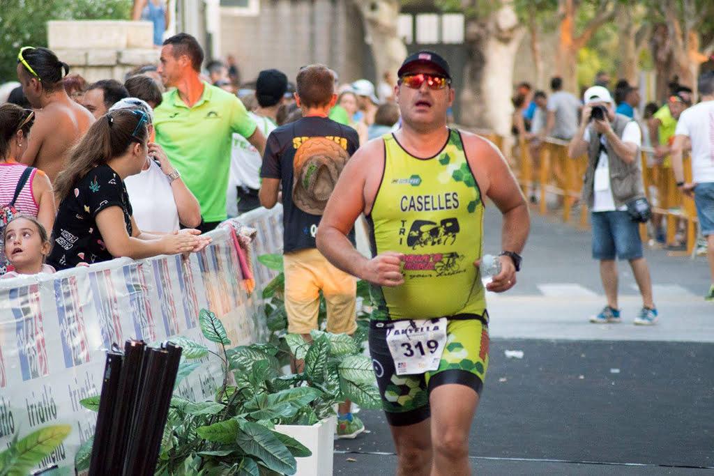 José Miguel Casellés en la carrera a píe