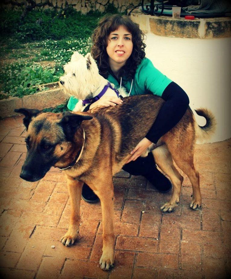 Sanavet, Sandra con mascotas