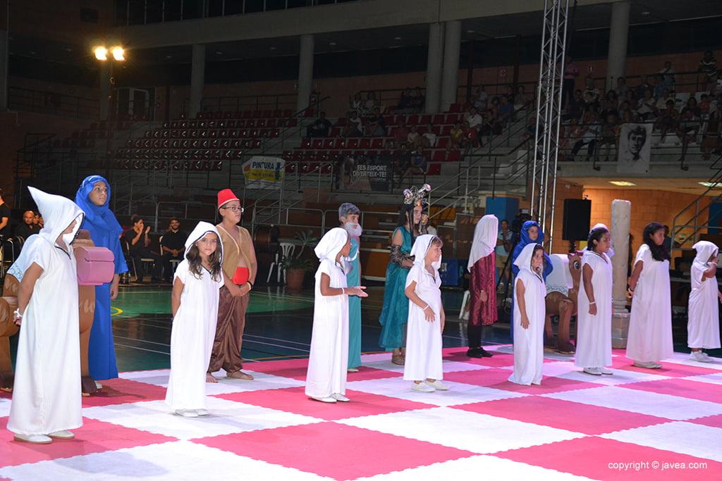 XXI Ajedrez Viviente de Xàbia