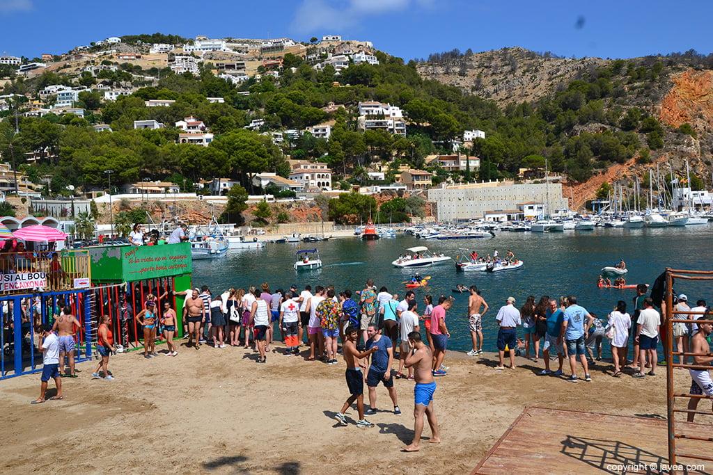 Bous a la mar fiestas del loreto xàbia